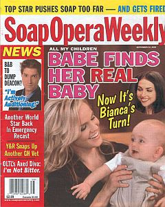 Soap Opera Weekly September 21, 2004