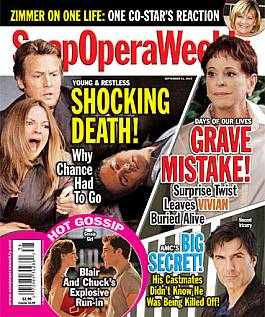 Soap Opera Weekly Sept. 21, 2010