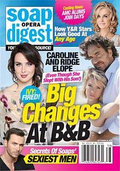 Soap Opera Digest Sept. 21, 2015
