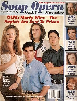 Soap Opera Magazine Sept. 21, 1993