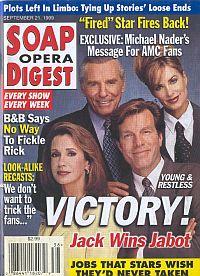 Soap Opera Digest - September 21, 1999