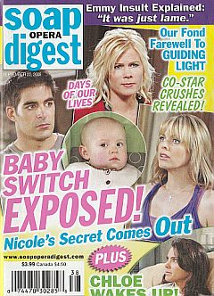 Soap Opera Digest September 22, 2009