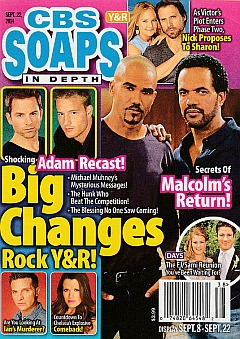 CBS Soaps In Depth September 22, 2014