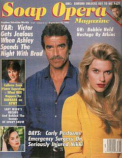 Soap Opera Magazine Sept. 22, 1992