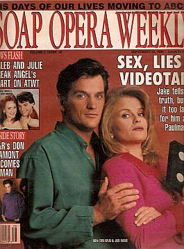Soap Opera Weekly September 22, 1992