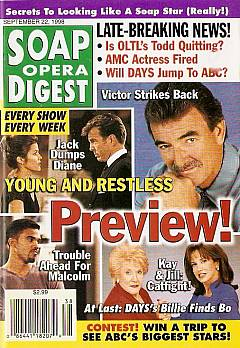 Soap Opera Digest - September 22, 1998