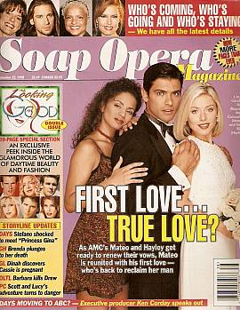 Soap Opera Magazine September 22, 1998