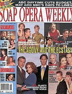 Soap Opera Weekly September 22, 1998