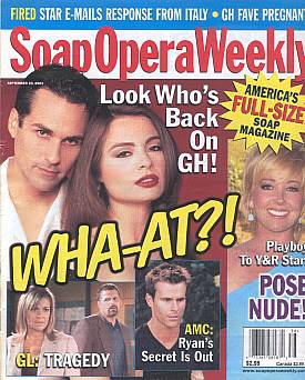 Soap Opera Weekly September 23, 2003