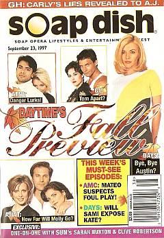 Soap Dish magazine September 23, 1997