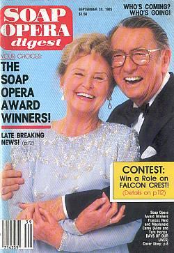 Soap Opera Digest September 24, 1985
