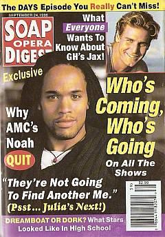 Soap Opera Digest - September 24, 1996
