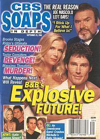 CBS Soaps In Depth September 25, 2001