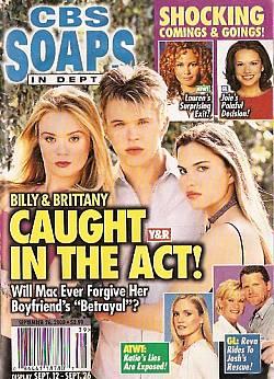 CBS Soaps In Depth September 26, 2000