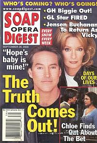 Soap Opera Digest - September 26, 2000