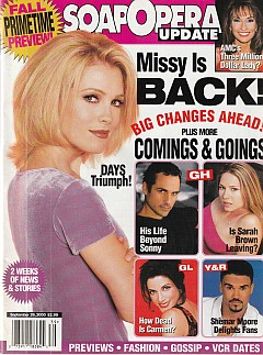 Soap Opera Update September 26, 2000