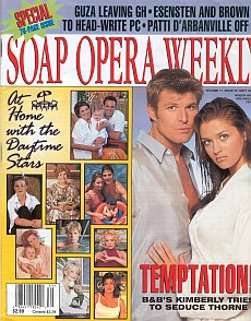 Soap Opera Weekly September 26, 2000