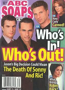 ABC Soaps In Depth September 27, 2005