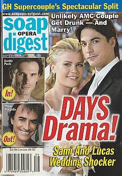 Soap Opera Digest Sept. 27, 2005