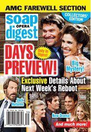 Soap Opera Digest September 27, 2011