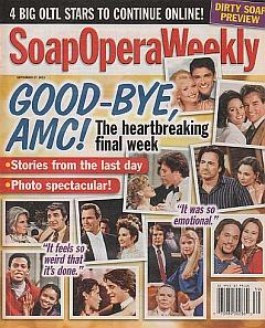 Soap Opera Weekly - September 27, 2011