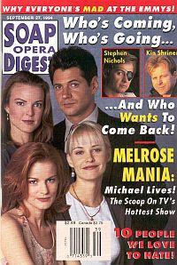Soap Opera Digest - September 27, 1994