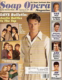 Soap Opera Magazine September 27, 1994