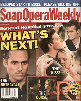 Soap Opera Weekly September 28, 2004