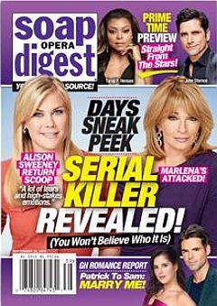 Soap Opera Digest Sept. 28, 2015