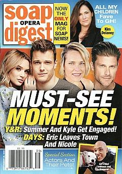 Soap Opera Digest September 28, 2020