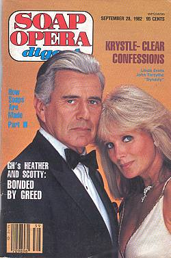 Soap Opera Digest - 1982 Dynasty Cover