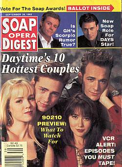 Soap Opera Digest September 28, 1993
