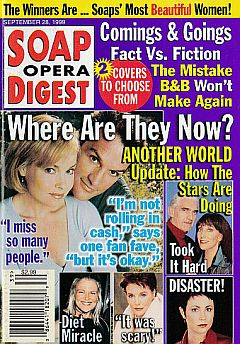 Soap Opera Digest - September 28, 1999