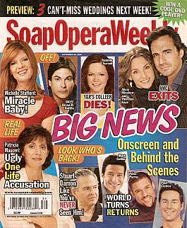 Soap Opera Weekly Sept. 29, 2009