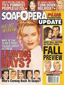 Soap Opera Update September 2, 1997