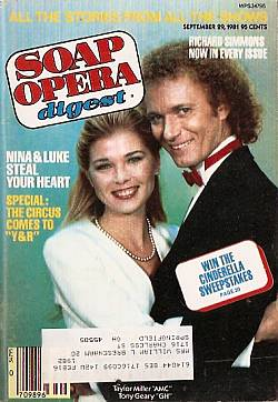 September 29, 1981 issue of Soap Opera Digest