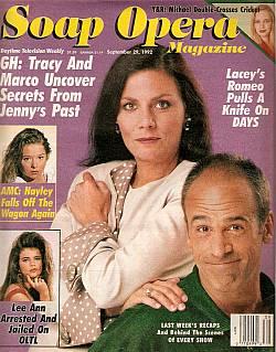 Soap Opera Magazine Sept. 29, 1992