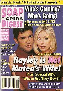 Soap Opera Digest - September 29, 1998