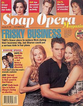 Soap Opera Magazine September 29, 1998