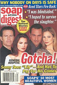 Soap Opera Digest Sept. 30, 2003