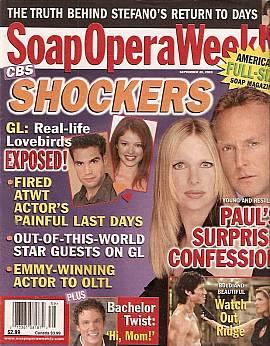 Soap Opera Weekly September 30, 2003