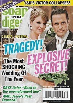 Soap Opera Digest September 30, 2008