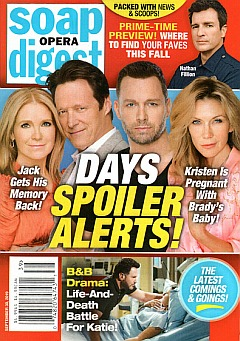 Soap Opera Digest September 30, 2019