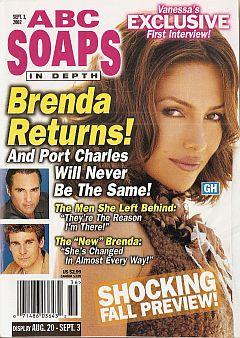 ABC Soaps In Depth September 3, 2002
