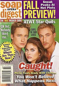 Soap Opera Digest Sept. 3, 2002
