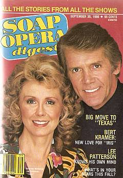 September 30, 1980 issue of Soap Opera Digest