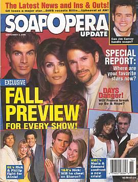 Soap Opera Update September 3, 1996