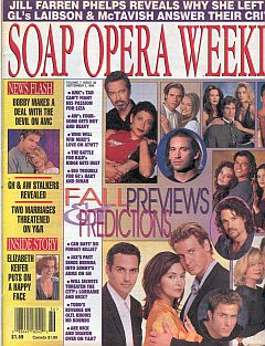 Soap Opera Weekly September 3, 1996