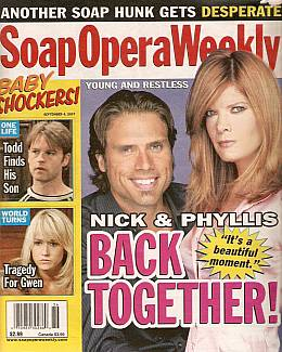 Soap Opera Weekly September 4, 2007