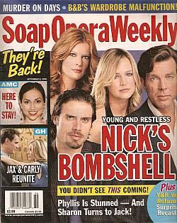 Soap Opera Weekly September 5, 2006